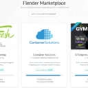 The Flender Marketplace, accessible from the Dashboard is the screen that offers us the projects available to invest at that time, with the interest rate they offer us, the duration of it in months (term) and the % of loan covered at that time.