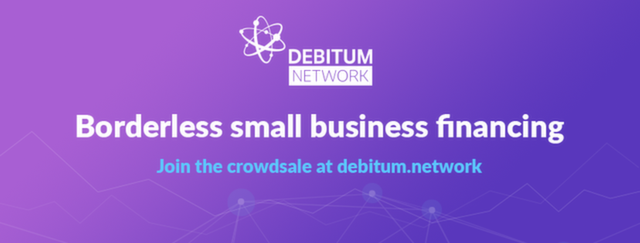 Debitum Network strives to function as a platform that offers financing for small businesses without borders, and is set to use a powerful and dynamic tool, like a block system, to ensure security and distribution of investments in the SME environment.