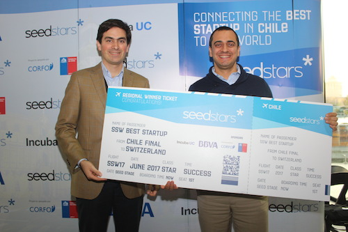 RedCapital.cl nombrada mejor startup de Chile en Seedstars Chile